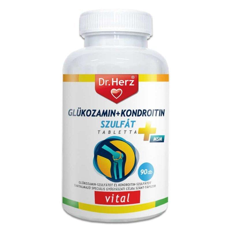 vitaminok glükózamin-kondroitinnel