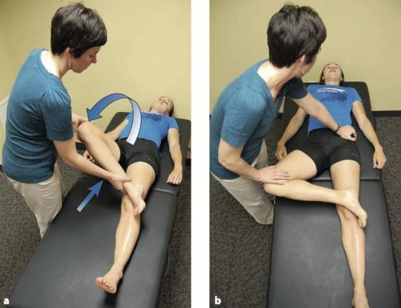 a térdízület fájdalma a láb felemelésekor)