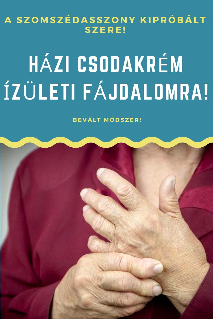 nagymama recept az ízületi fájdalomról)