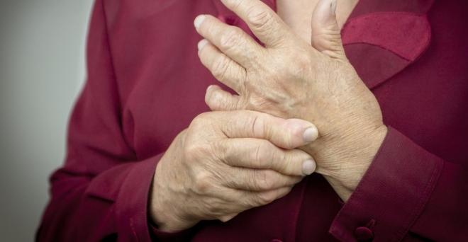 gyulladt ízület az ujjak kezelésénél