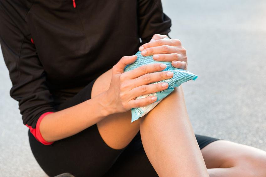ízületi fájdalmak esetén alkalmazzon hidegen