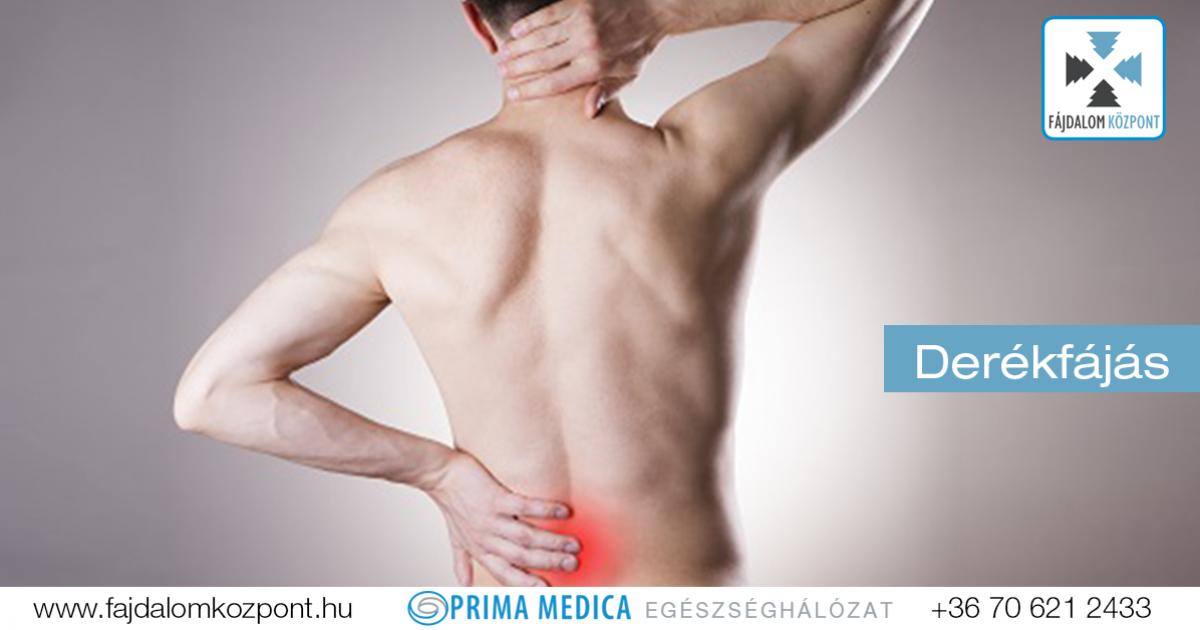 jobb oldali fájdalom és derékfájás)