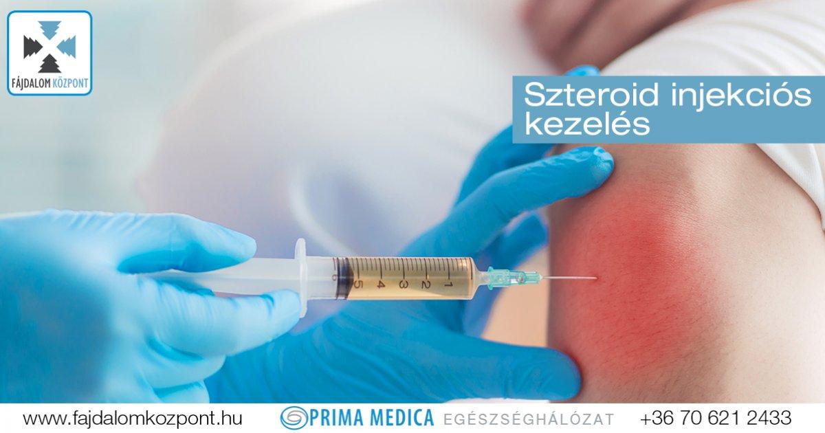 injekciók gyulladás és ízületi fájdalmak kezelésére)