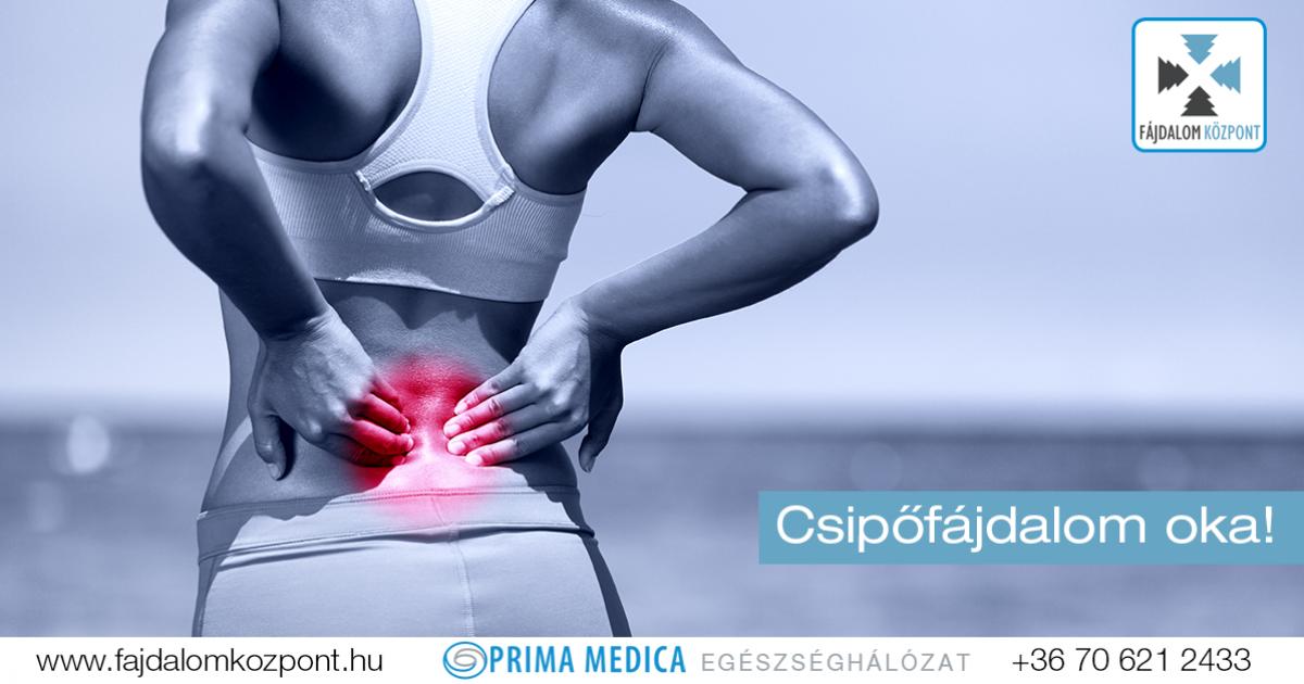 a bal csípőízület fájdalma okoz)