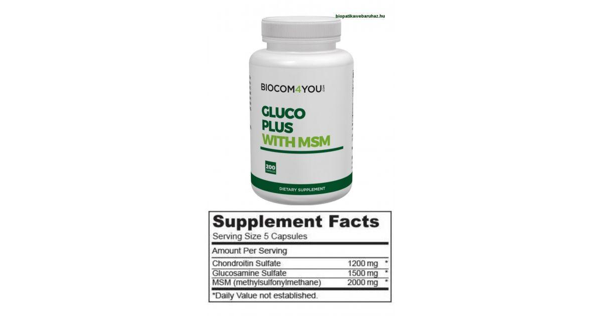 kondroitin glükózamin gyógyszerekkel)