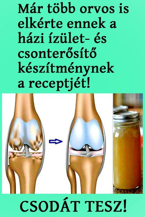 ízületek és csontok készítményei)