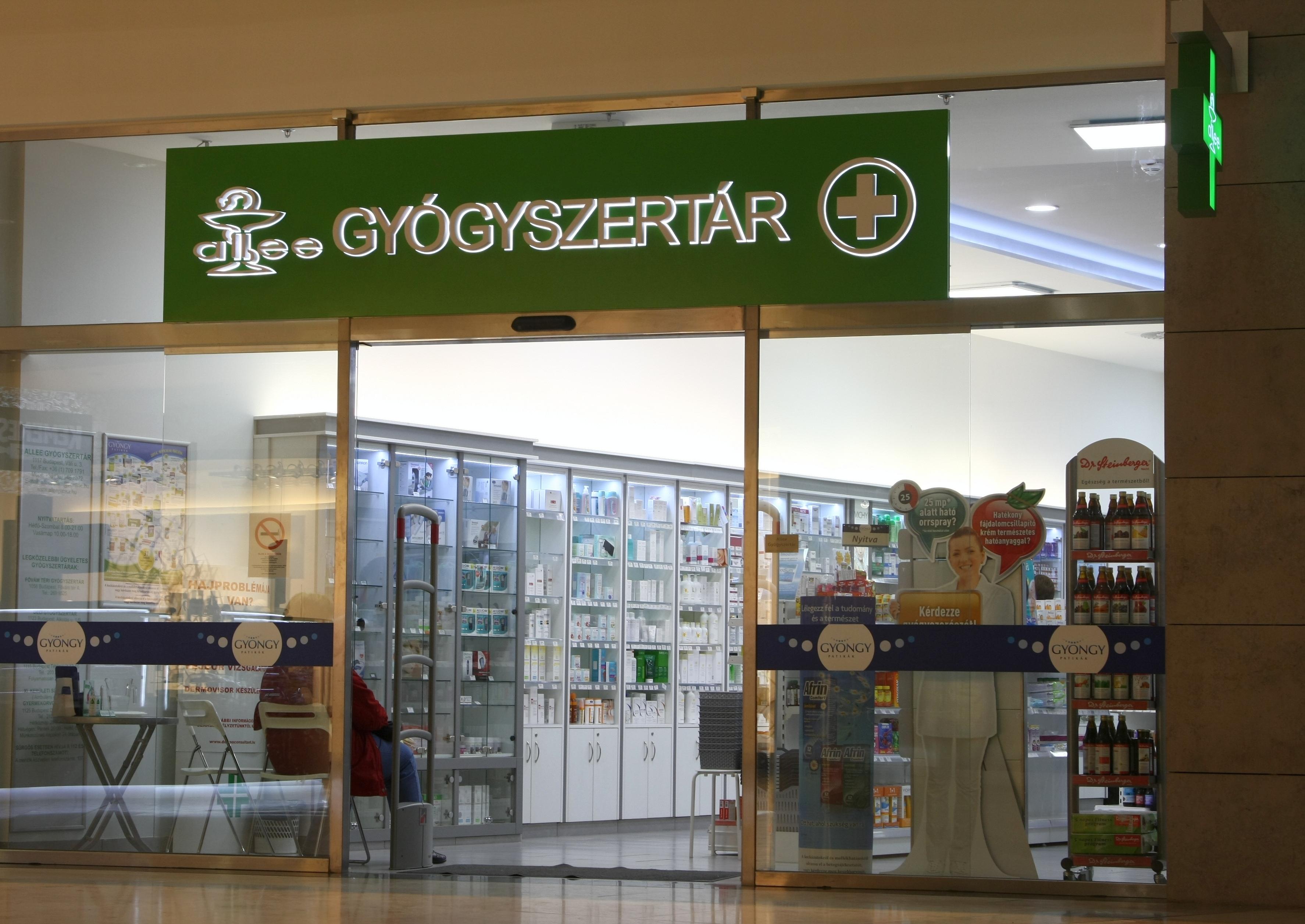közös készítmények gyógyszertár)
