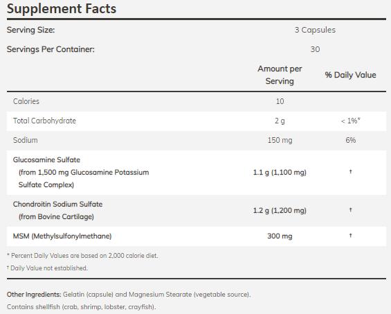 vélemények a glükozaminról és a kondroitinről)