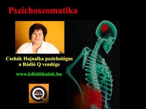 ízületi fájdalom a pszichoszomatikában