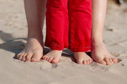 a láb ívének ízületi kezelése)