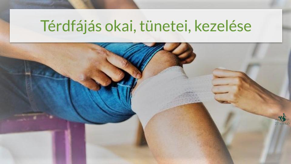térd blokád a fájdalom miatt)