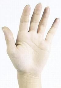 a hüvelykujja a karon valóban fáj