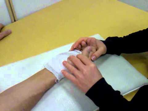 az ujjak ízületeinek diszlokációja)