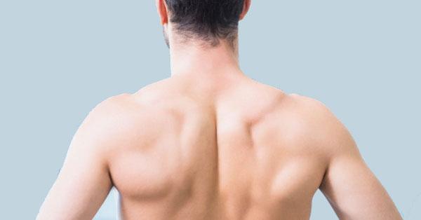 fáj a hátam a lapocka alatt)