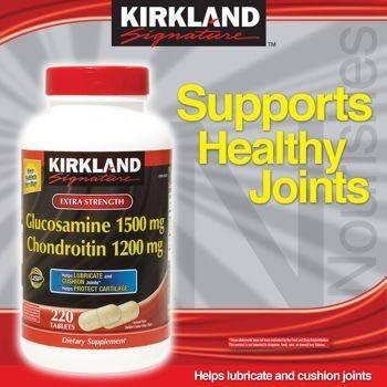 glucosamine 1500 chondroitin 12020kirkland)