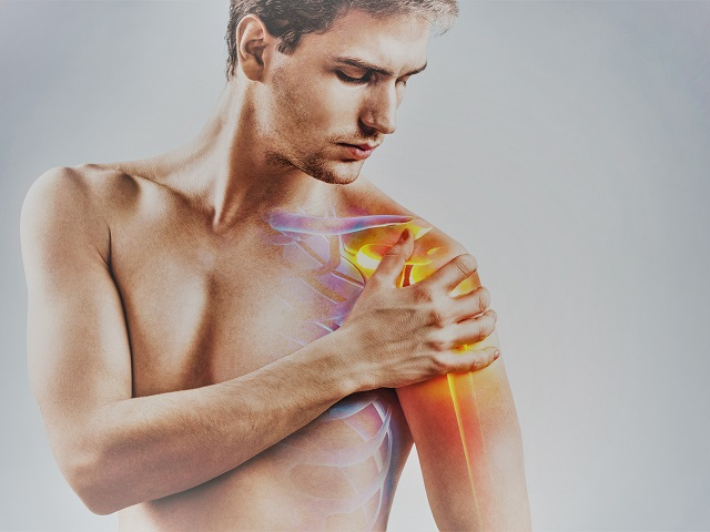 fájdalom a vállízületben, amikor egy kézgyógyszert emelnek fel