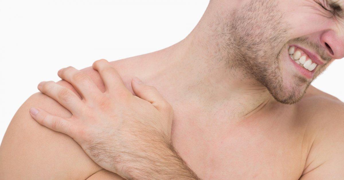 fájdalom okozza a váll és a könyök ízületeit)