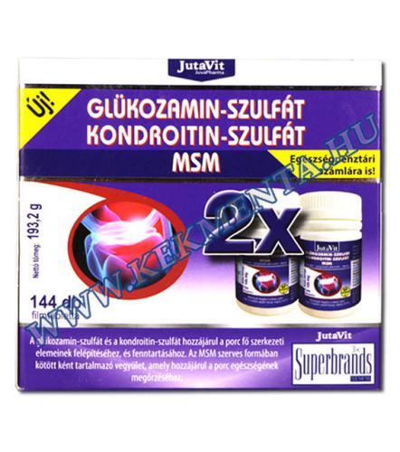 glükózamint és kondroitint tartalmazó kenőcsök arthrosis burgonya kezelés