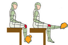 gyakorlat térd artrózisával