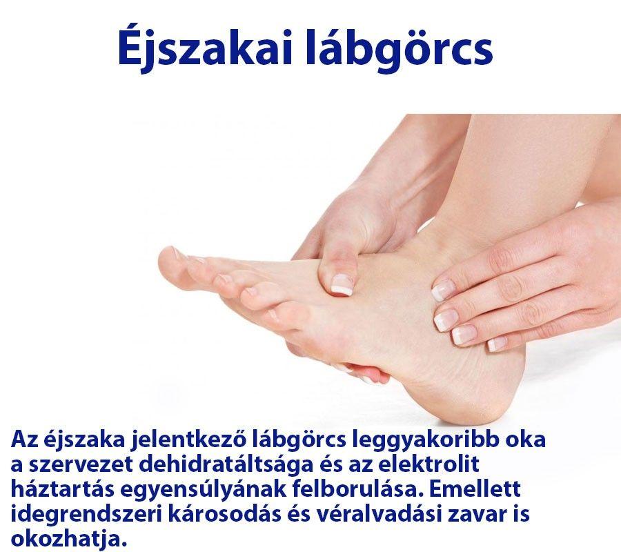 lábgörcsök és ízületi fájdalmak kenőcs a hüvelykujj ízületének fájdalmára