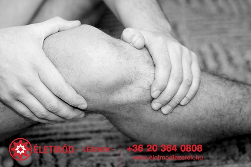 térdfájdalom és véraláfutás)