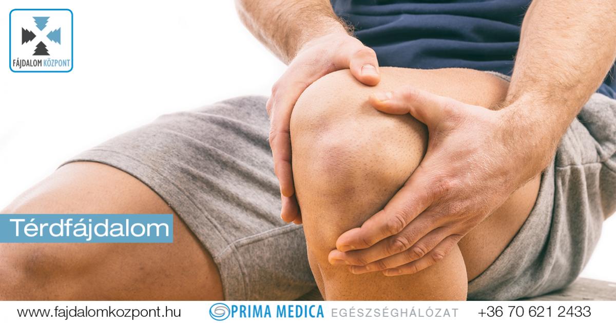 térdízületek fájdalmának felírása a láb ízületeiben fellépő fájdalom oka