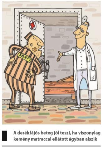 gerincvelő derékfájás)