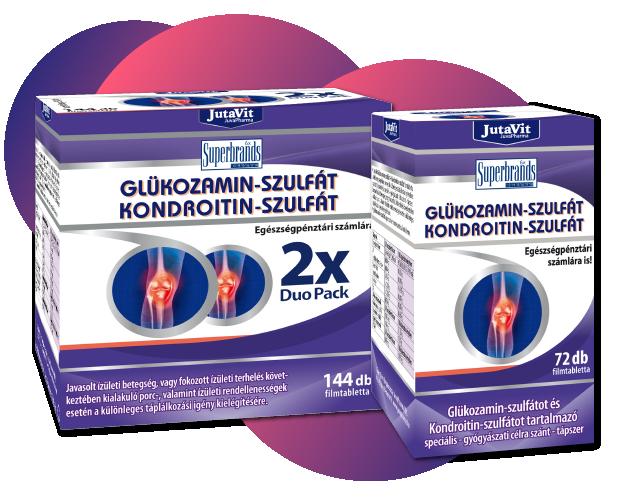 glükózamin és kondroitin a gyógyszertárakban